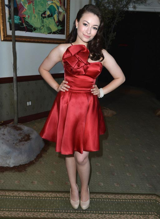 Jodelle Ferland during the premiere of ParaNorman in August 2012
