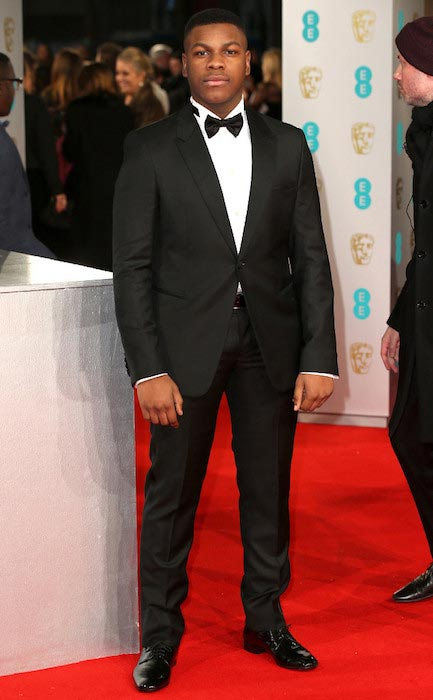 John Boyega at BAFTA 2015