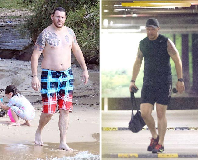 Manu Feildel before and after