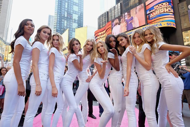 New Victoria's Secret Models celebrate Body by Victoria 2015 Campaign