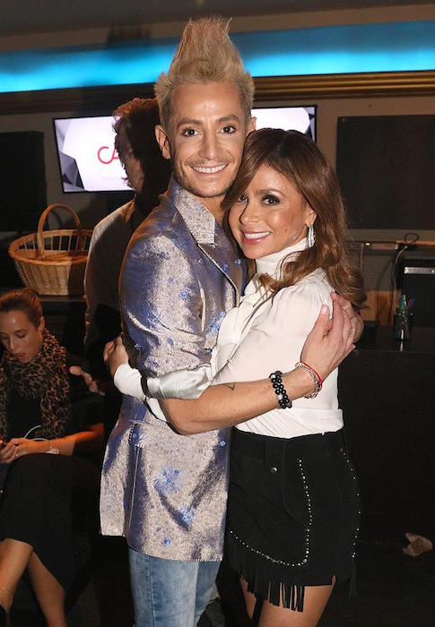 Recording artist, Paula Abdul and Frankie J. Grande during VH1's 5th Annual Streamy Awards 2015