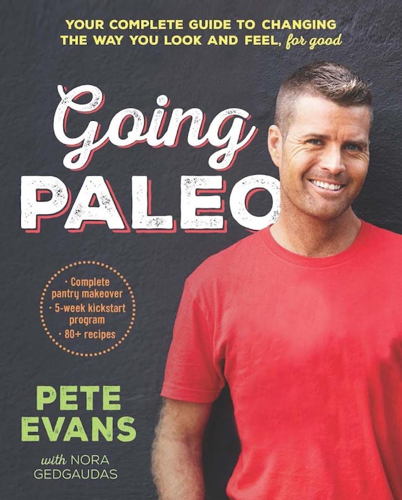 Pete Evans first book - Going Paleo