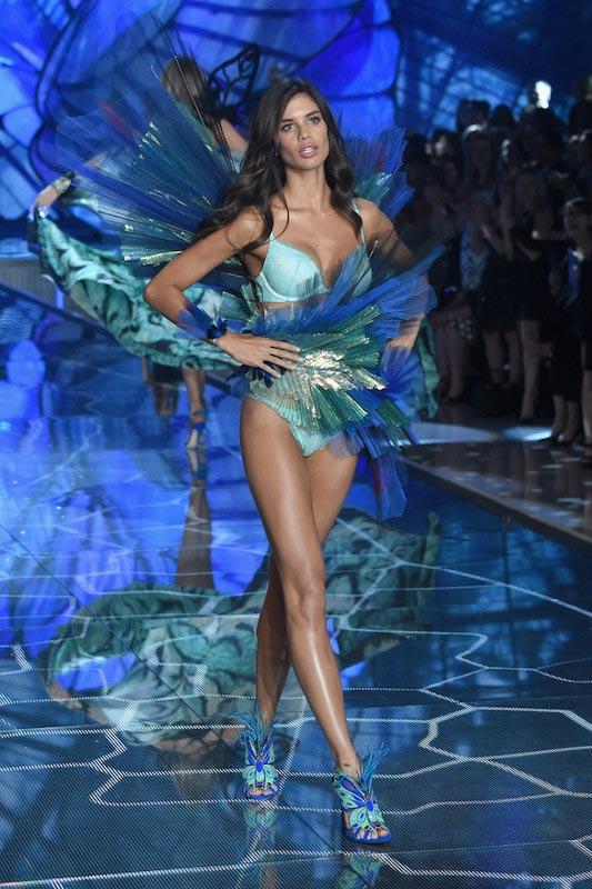 Sara Sampaio walks the 2015 Victoria's Secret Fashion Show