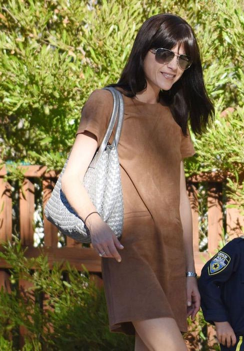 Selma Blair out in Los Angeles in October 2015
