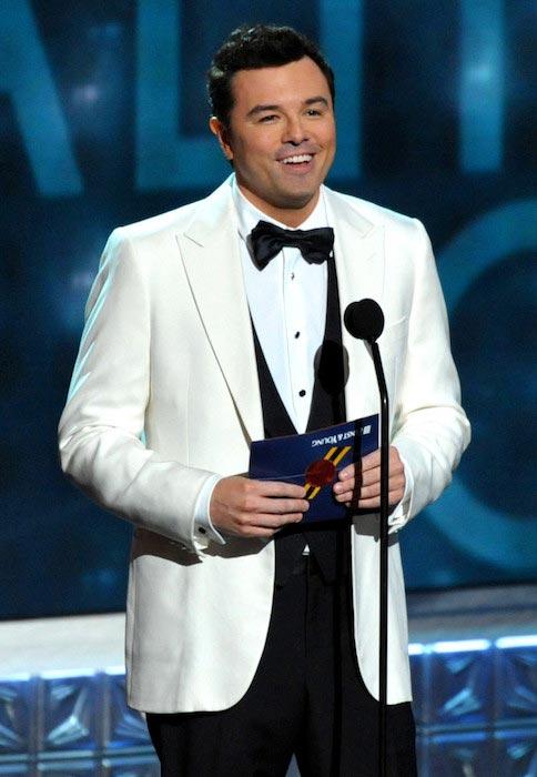 Seth MacFarlane at Oscars