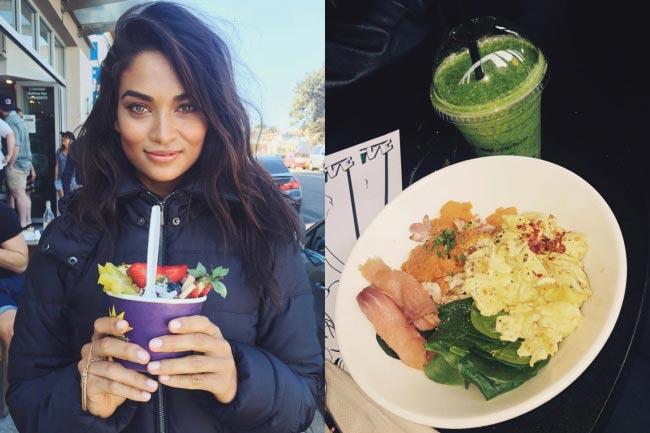 Shanina Shaik diet