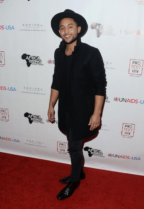 Tahj Mowry at the Inaugural World AIDS Day Benefit in December 2015