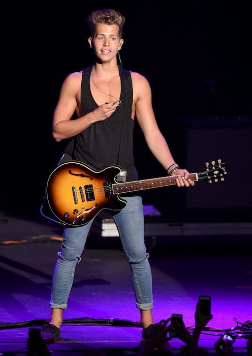 The-Vamps-James McVey performs at The Joint in July 2014