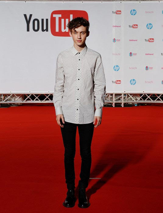 Troye Sivan at the YouTube FanFest 2015 in Sydney, Australia