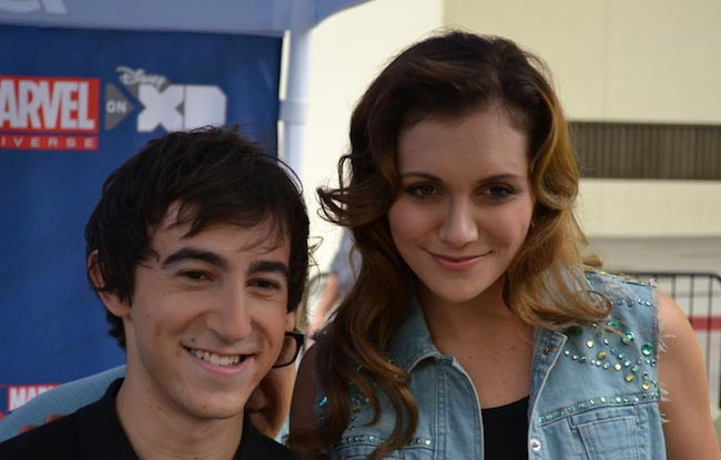 Vincent Martella and Alyson Stoner
