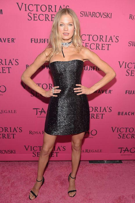 Vita Sidorkina during Victoria's Secret Fashion Show 2015 After Party in NYC