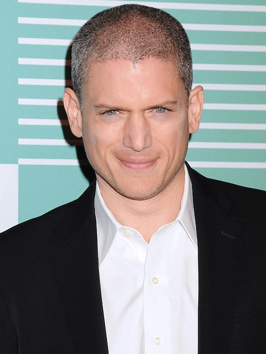Wentworth Miller at the CW Network's 2015 Upfront in May 2015