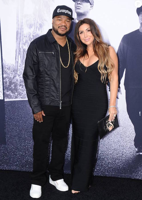 Xzibit and Krista Joiner at the Straight Outta Compton world premiere in August 2015