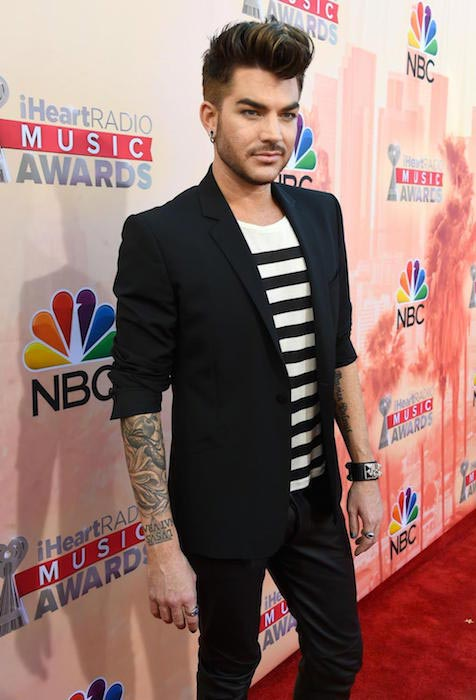 Adam Lambert at 2015 iHeartRadio Music Awards