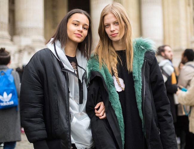 Binx Walton (Left) and Lexi Boling
