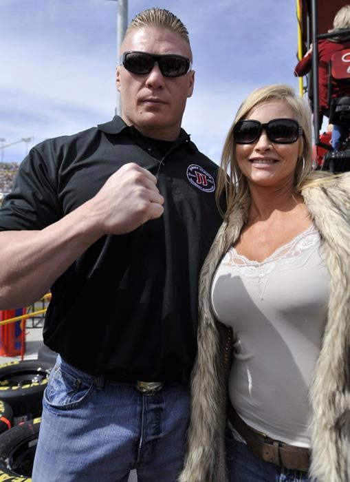 Brock Lesnar and wife Sable
