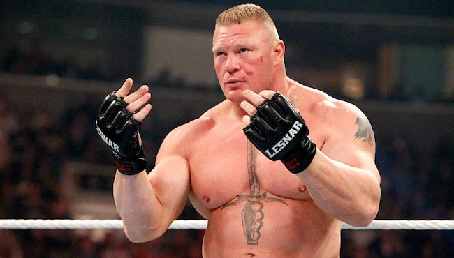 Brock Lesnar body