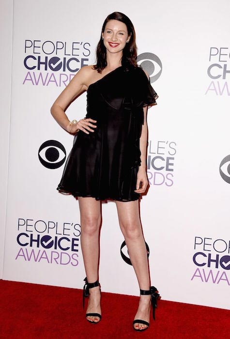 Caitriona Balfe at 2015 People's Choice Awards in Los Angeles