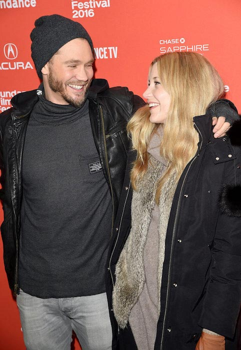 Chad Michael Murray and wife Sarah Roemer at Sundance Film Festival 2016