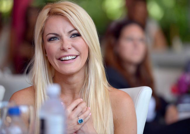Crystal Harris during Playboy's 2013 Playmate Of The Year luncheon
