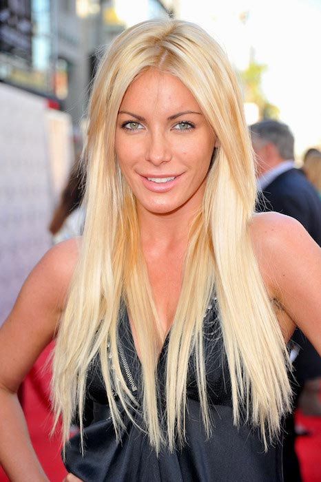 Crystal Harris during the TCM Classic Film Festival Opening Night Gala in April 2011