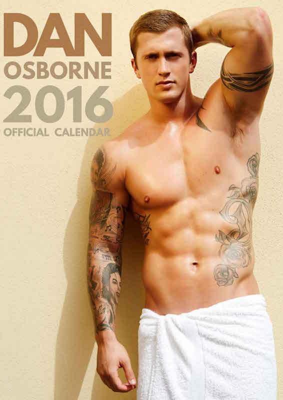 Dan Osborne official calendar.