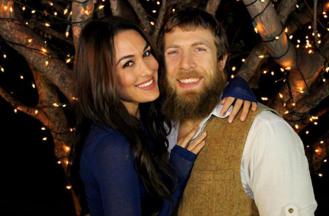Daniel Bryan and Brie Bella