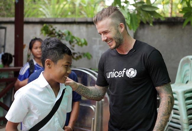 David Beckham, UNICEF ambassador