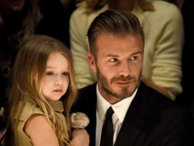 David Beckham Family Daughter