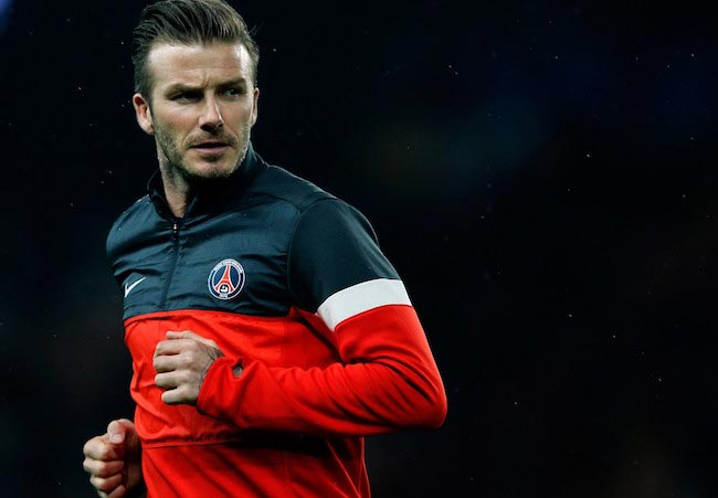 David Beckham footballer