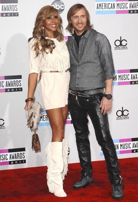 David Guetta and Cathy Guetta at American Music Awards 2011