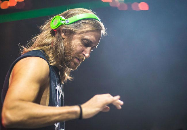 David Guetta during Miami Ultra Music Festival 2015