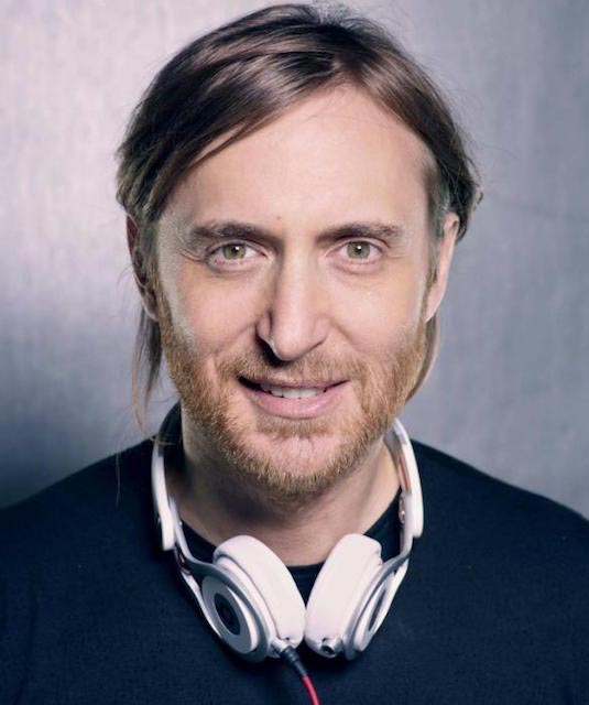 David Guetta headshot
