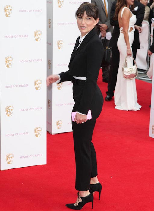 Davina McCall at BAFTAs in May 2015