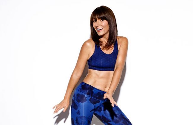 Davina McCall fitness workout