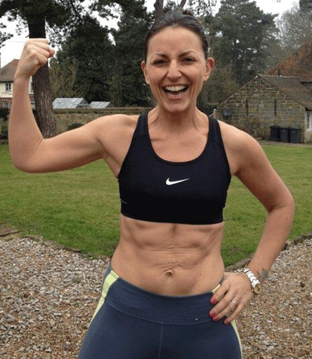 Davina McCall workout