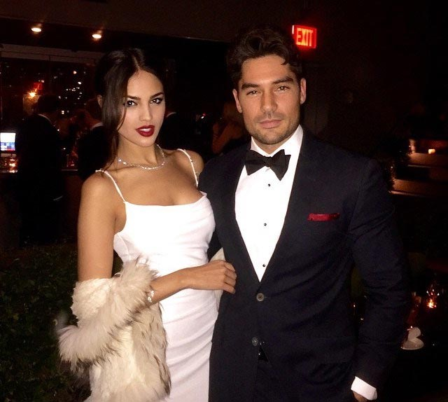 Eiza Gonzalez and DJ Cotrona