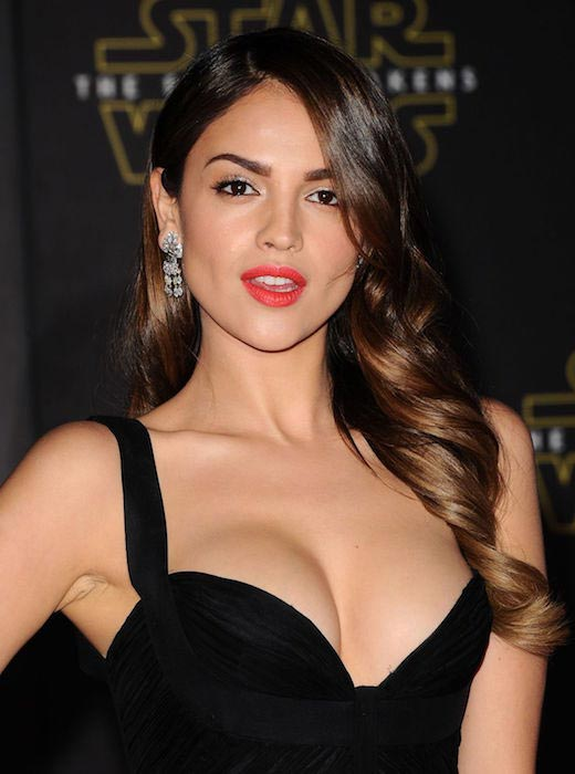"Eiza Gonzalez at ""Star Wars: The Force Awakens"" premiere in Hollywood in December 2015"