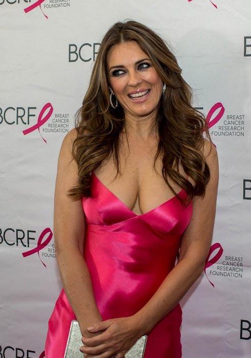 Elizabeth Hurley at 2015 Boston Hot Pink Party