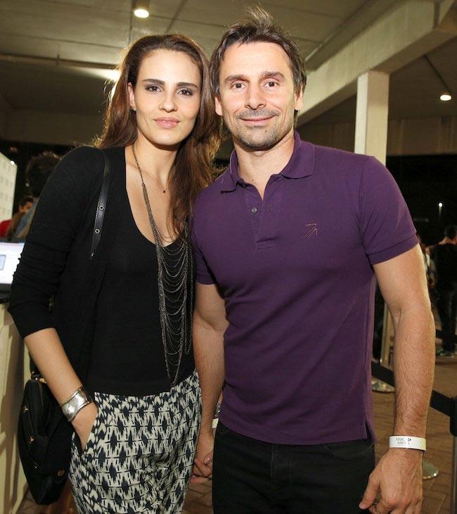 Fernanda Tavares and Murilo Rosa