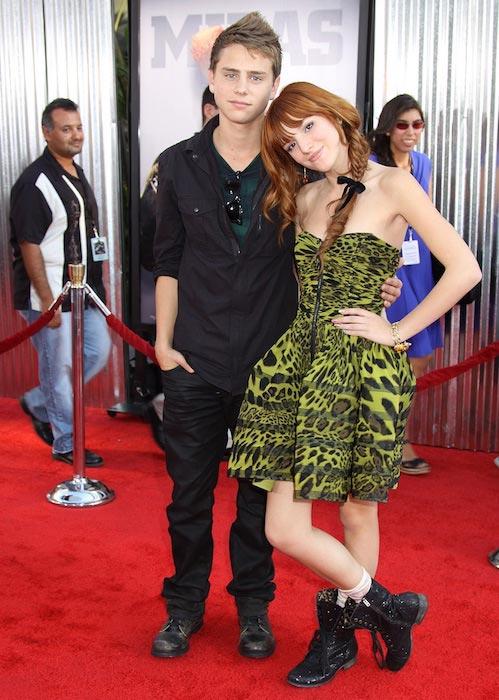 Garrett Backstrom and Bella Thorne
