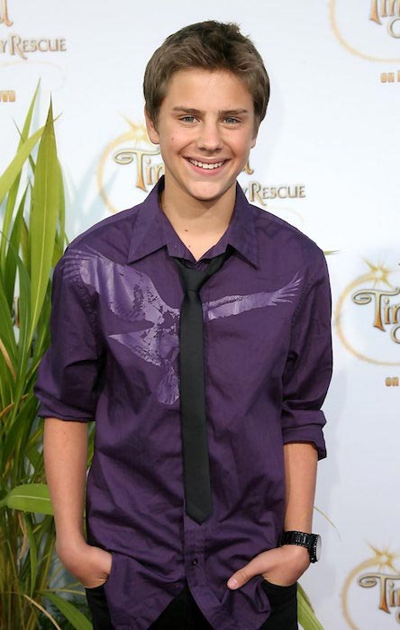"Garrett Backstrom at the screening of Disney's ""Tinker Bell And The Great Fairy Rescue"" in August 2010"