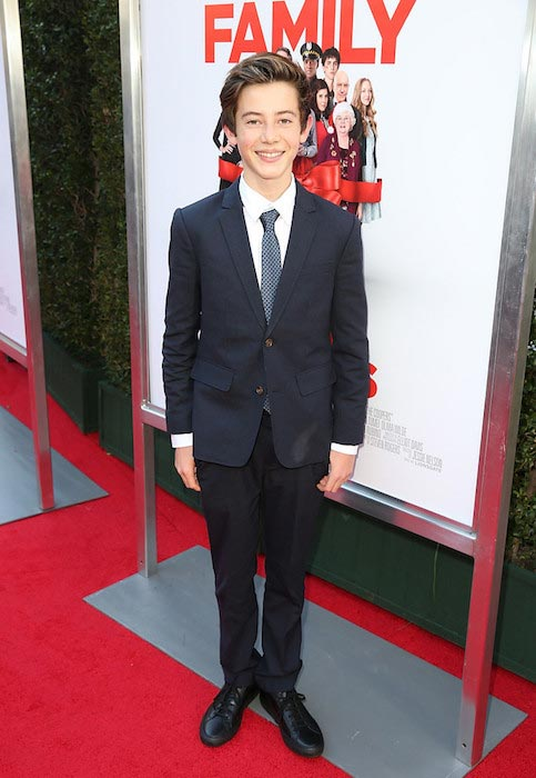 """Griffin Gluck during """"Love The Coopers"""" Holiday Luncheon Benefiting the LA Regional Food Bank"""