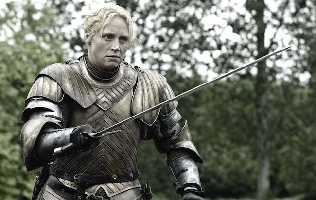"Gwendoline Christie as seen in ""Game of Thrones"""