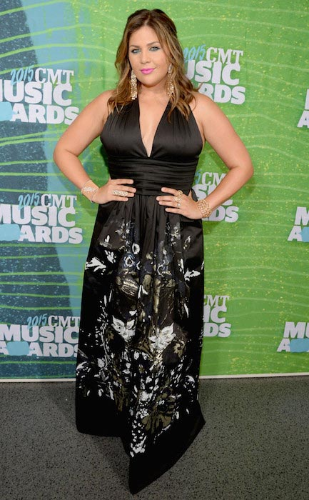 Hillary Scott at 2015 CMT Awards