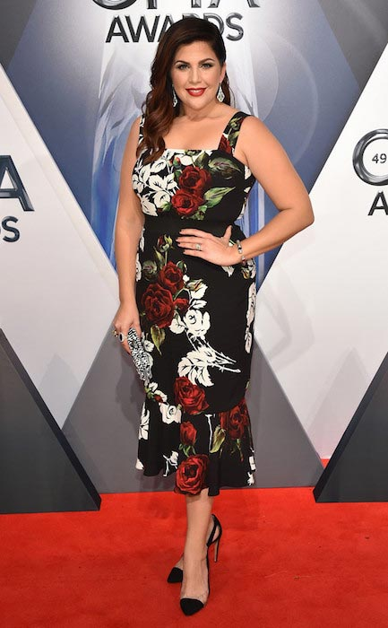 Hillary Scott at CMA Awards 2015