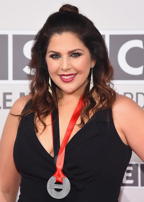 Hillary Scott of Lady Antebellum during the SESAC 2015 Nashville Music Awards