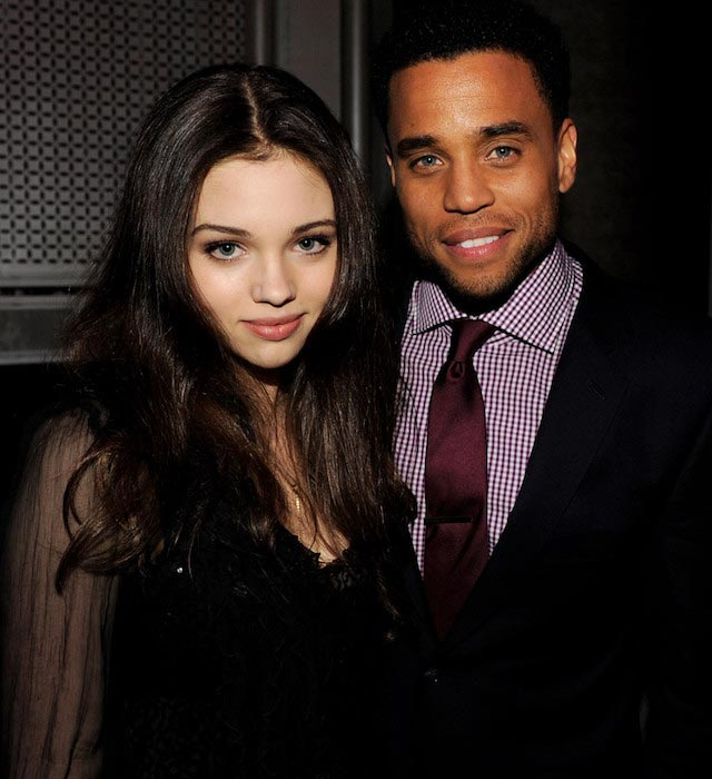 "India Eisley and Michael Ealy at the premiere of ""Underworld: Awakening"" After Party"