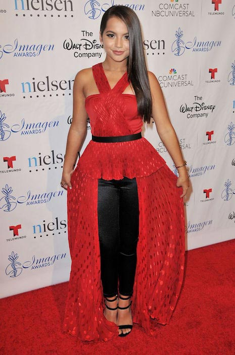 Isabela Moner at 30th Annual Imagen Awards in Los Angeles in August 2015
