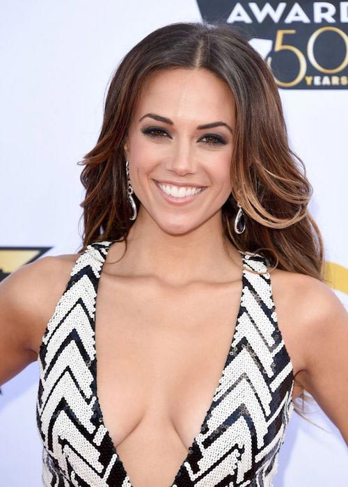 Jana Kramer at 2015 Academy of Country Music Awards in Arlington